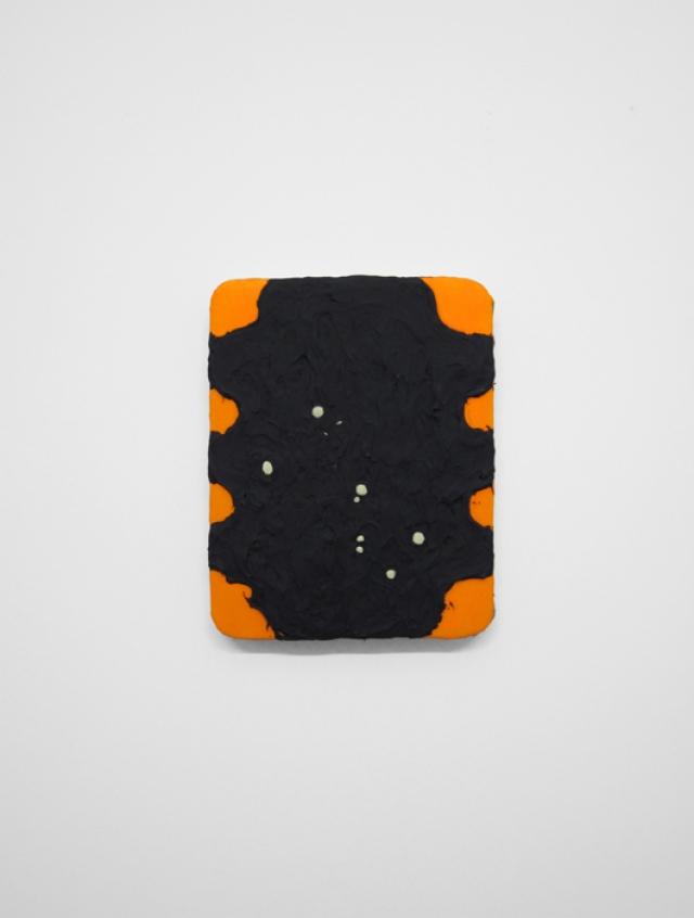 """Rita  14¼ x 11¼ x 1¾""""/ 36.2 x 28.5 x 4.4cm, acrylic on linen, 2014"""