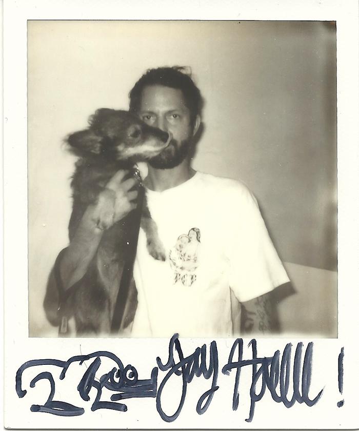 Jay Howll Web Scan Polaroid