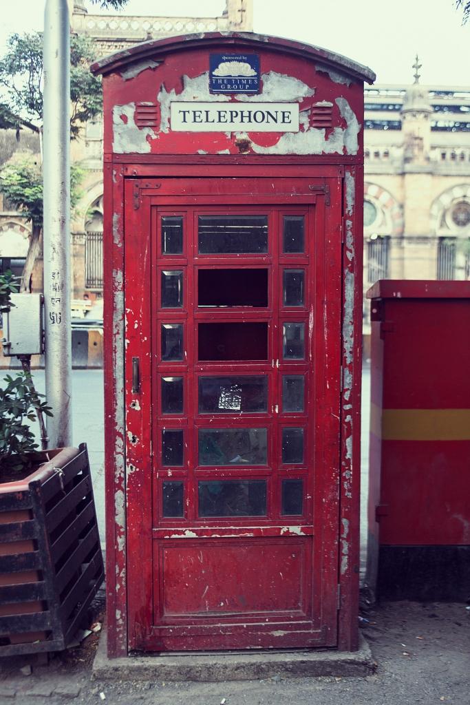 Telephone Booth India