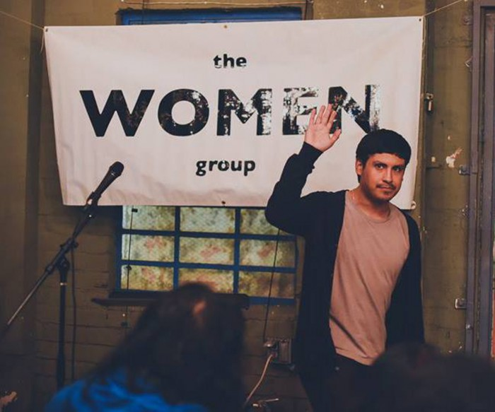 DYLAN DOREN OF the WOMEN group