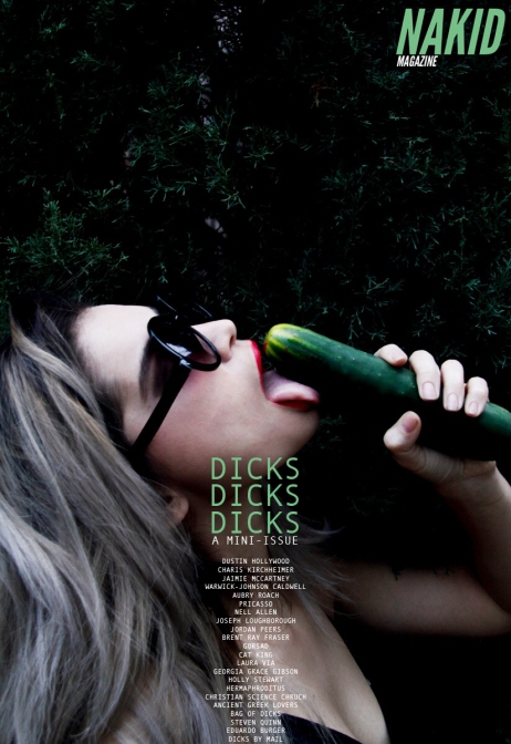 DICKS ISSUE COVER DESIGN