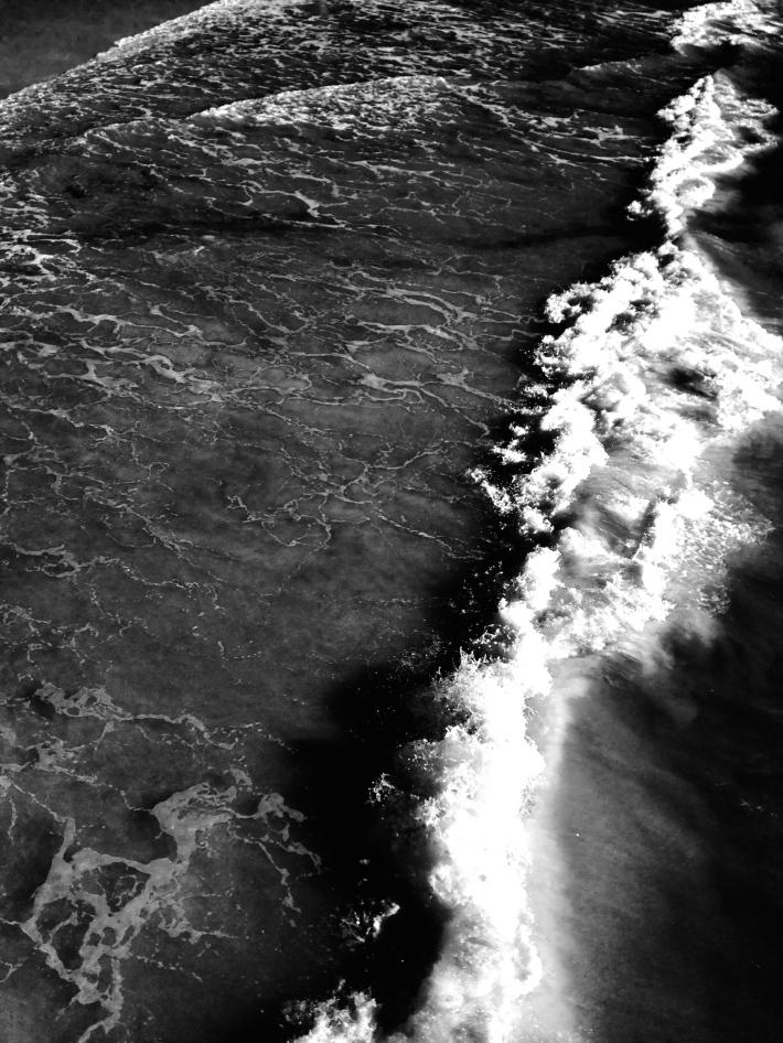 24. BLACK & WHITE VENICE WAVES