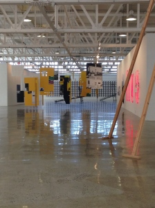 View of exhibition in The Glass Gallery at Mana Contemporary