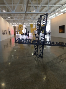 Installation view of The Glass Gallery