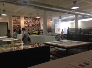 View of Gary Lichtenstein Editions at Mana