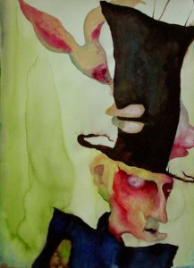 Harlequin Jack and The Absinthe Bunny