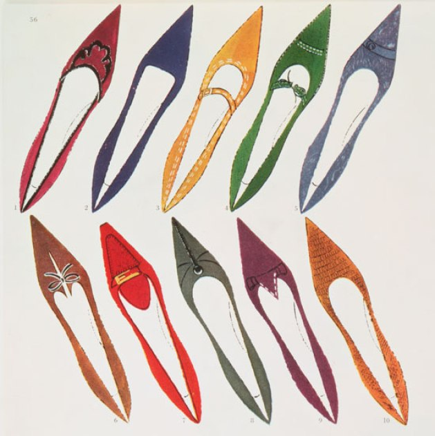 Shoe-Illustration-for-Harpers-Bazaar-c-1958-Andy-Warhol-©-The-Andy-Warhol-Foundation-for-the-Visual-Arts-Inc-DACS-550