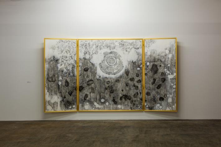 Nadia Kaabi Linke The Altarpiece dallas contemporary 2015