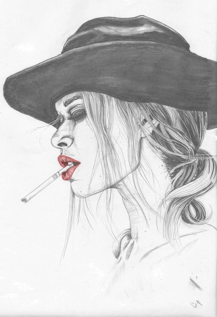 4thandbleekerhatcigarettesketchprofile1A