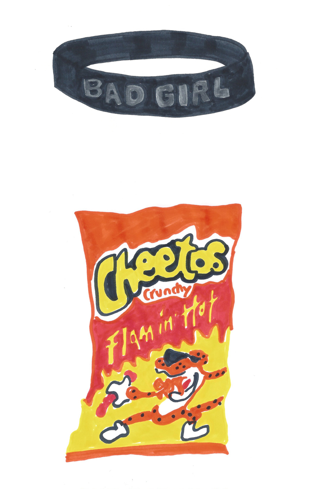 Cheetos by Grace Miceli